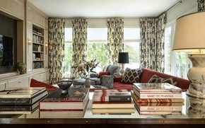 Picture comfort, books, interior, library, living room, Eastridge Home