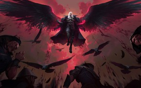 Picture people, vampire, Swain, Legends of Runeterra, erilia