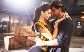 Picture girl, male, India, Shahrukh Khan