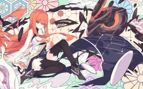 Picture girl, anime, fan, art