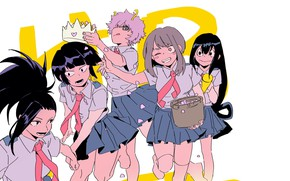 Picture girls, My hero Academy, My Hero Academia, Boku No Hero Academy