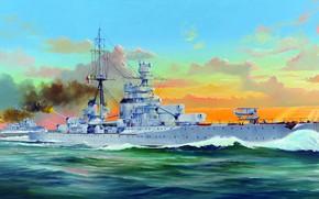 Picture Zara, Zara, heavy cruiser, The Royal Navy of Italy