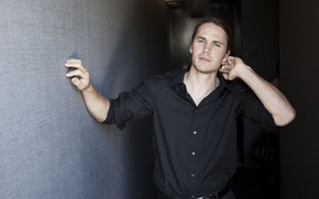 Picture look, pose, male, shirt, Taylor Kitsch