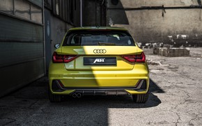 Picture Audi, rear view, hatchback, ABBOT, Audi A1, 2019