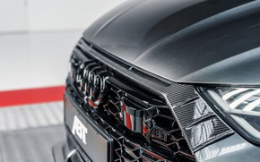 Picture Audi, the hood, before, grille, ABBOT, universal, TFSI, RS 6, 2020, RS6-R, V8 Twin-Turbo, RS6 …
