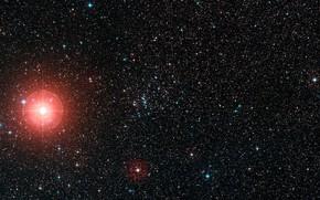 Picture Star, Stars, Constellation Vela, Digitized Sky Survey 2, Supergiant, Open starcluster, DSS 2, Open star …