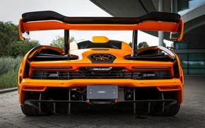 Picture orange, McLaren, feed, Senna, MSO, 2020, Senna LM