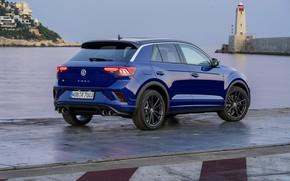Picture Volkswagen, rear view, crossover, 2020, T-Roc, T-Roc R