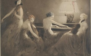 Picture 1934, Louis Icart, One hour of music