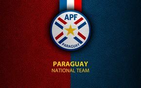 Picture wallpaper, sport, logo, football, Paraguay, National team