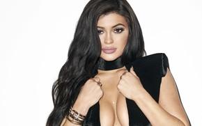 Picture look, brunette, Kylie Jenner