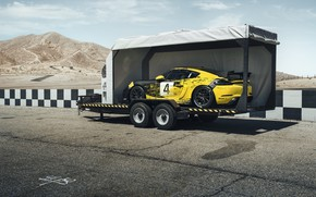 Picture machine, coupe, Porsche, sports, the trailer, Clubsport, 718, Cayman GT4