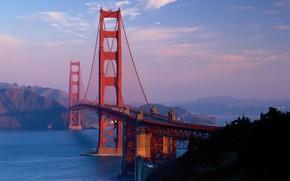 Picture the sky, bridge, San Francisco, Golden Gate