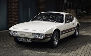 Picture coupe, Volkswagen, Parking, 1972, SP2