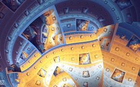 Picture squares, fractal, tatasz, by tatasz