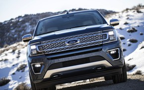 Picture Ford, front view, 2018, Expedition