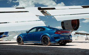 Picture Dodge, Charger, Hellcat, SRT, Wing, 2020, Dodge Charger SRT, Hellcat widebody