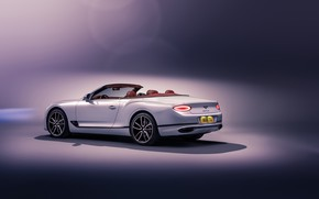 Picture Bentley, Continental GT, rear view, Convertible, 2019