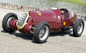 Picture Wheel, The hood, Spokes, Alfa Romeo, Classic, Scuderia Ferrari, Grand Prix, 1935, Classic car, Sports …
