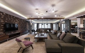 Picture style, interior, style, living room, living room, interior