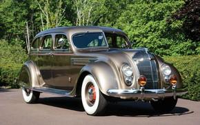 Picture Imperial, Chrysler, Sedan, 1936, Airflow