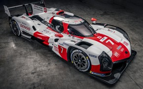 Picture sports car, Toyota, WEC, 4WD, 2021, Gazoo Racing, GR010 Hybrid, 3.5 л., V6 twin turbo