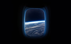 Picture Planet, Space, View, Earth, The window, Art, Space, Art, Earth, Home, Planet, View, Vadim Sadovski, …