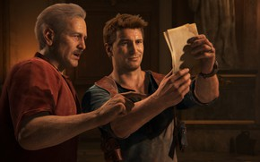 Picture Naughty Dog, Playstation 4, Uncharted 4, Nathan Drake, Victor Sullivan