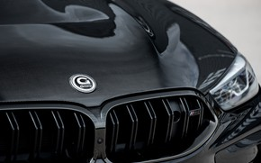 Picture coupe, the hood, BMW, grille, G-Power, Bi-Turbo, 2020, BMW M8, two-door, M8, M8 Coupe, F92, …