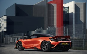 Picture orange, the building, coupe, McLaren, 2020, 765LT