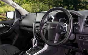 Picture black, the wheel, salon, pickup, Isuzu, 2020, Arctic Trucks, D-Max, UK version, AT35