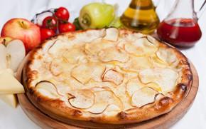 Picture apples, pie, vegetables
