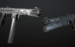 Picture USSR, The gun, Игорь Яковлевич Стечкин, ТКБ-486