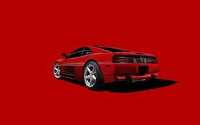 Picture Ferrari, Legend, Scuderia Ferrari, RED, Testarossa, Backgraund