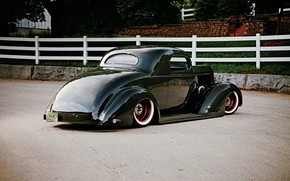 Picture Coupe, Tuning, Packard, Low, Modified, Old car