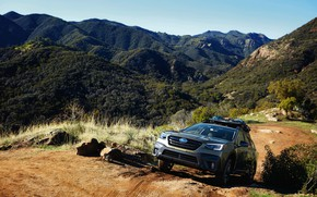 Picture Subaru, universal, Outback, AWD, the mountainous terrain, 2020