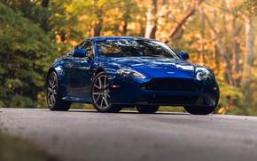 Picture Aston Martin, Vantage, Blue