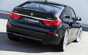 Picture BMW, Hamann, 2010, rear view, Gran Turismo, 550i, 5, F07, 5-series, GT