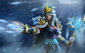 Picture Crystal Maiden, DotA 2, The witch