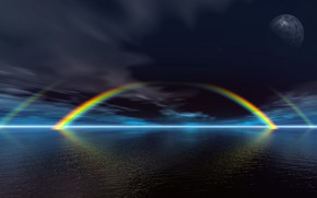 Picture Rainbow, Nature, Water, Wallpaper, Sea