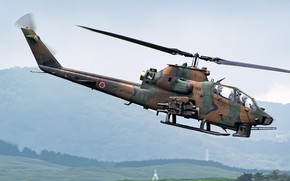 Picture helicopter, shock, AH-1S