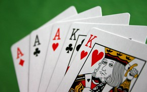 Picture card, ACE, poker, king, win