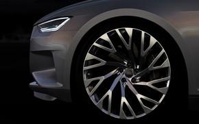 Picture Concept, Audi, coupe, wheel, Coupe, 2014, Prologue