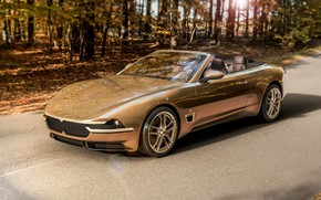 Picture convertible, brown, wheel, Cabriolet, Touring Sciàdipersia, Touring Sciàdipersia Cabriolet