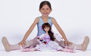 Picture doll, girl, ballerina