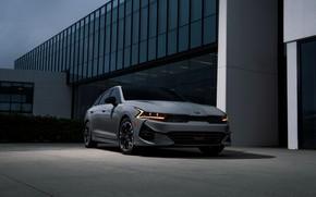 Picture grey, sedan, KIA, Kia, Optima, 2020, 2021, fastback, K5, K5 GT-Line AWD, Kia K5, KIΛ
