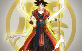 Picture anime, warrior, art, guy, Dragon Ball, Dragonball