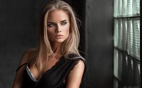 Wallpaper model, pretty, blonde, Eugene Marklew