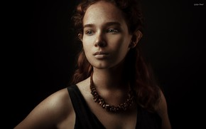 Picture decoration, freckles, Aisha Dubrovskaya, Galya Timel