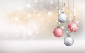 Picture snowflakes, background, holiday, new year, bokeh